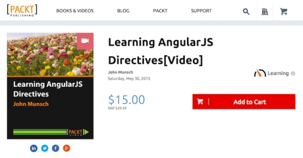 Learning AngularJS Directives Published